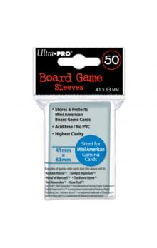UltraPRO: 50 Board Game Sleeves 41x63mm (1/12)