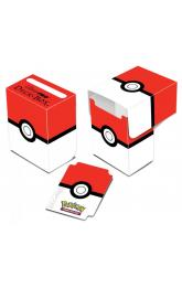 Pokémon UltraPRO: krabička na karty - Pokéball Red and White